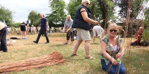 Second Beginners Willow Weaving Workshop