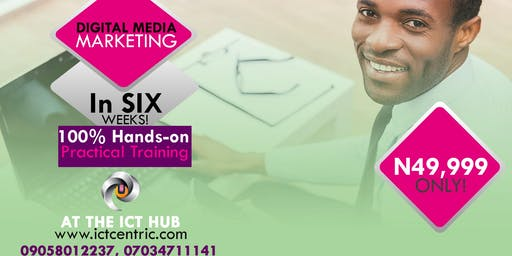 HOTTEST IN DEMAND!! This is the world's most sought after diploma - the Professional Diploma in Digital Media Marketing - INTENSIVE, PRACTICAL & LIVE TRAINING like you never get anywhere else!