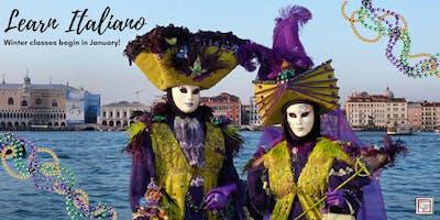 Travelers Italian Language Class (Thursdays, Metairie, Winter 2019)