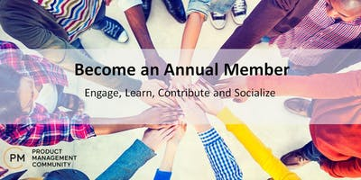 Product Management Community (PMC) Annual Membership - 2020
