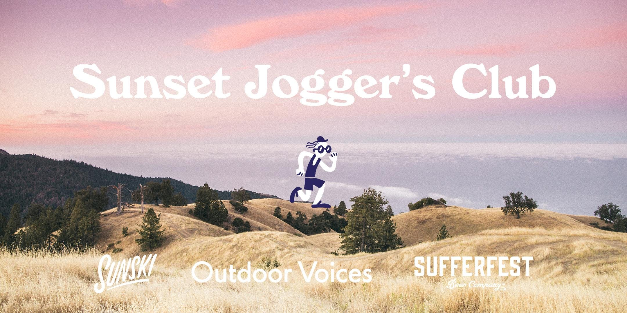 Sunset Jogger S Club Outdoor Voices Sunski Sufferfest Beer