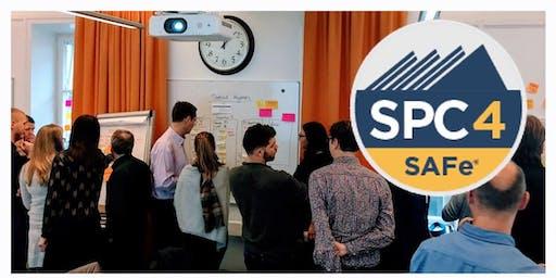 Implementing SAFe 4.6 w/ SPC Certification - Detroit, December 2019