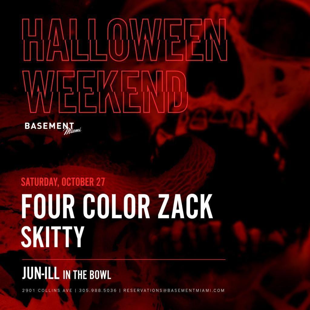 Basement Miami Halloween Saturday
