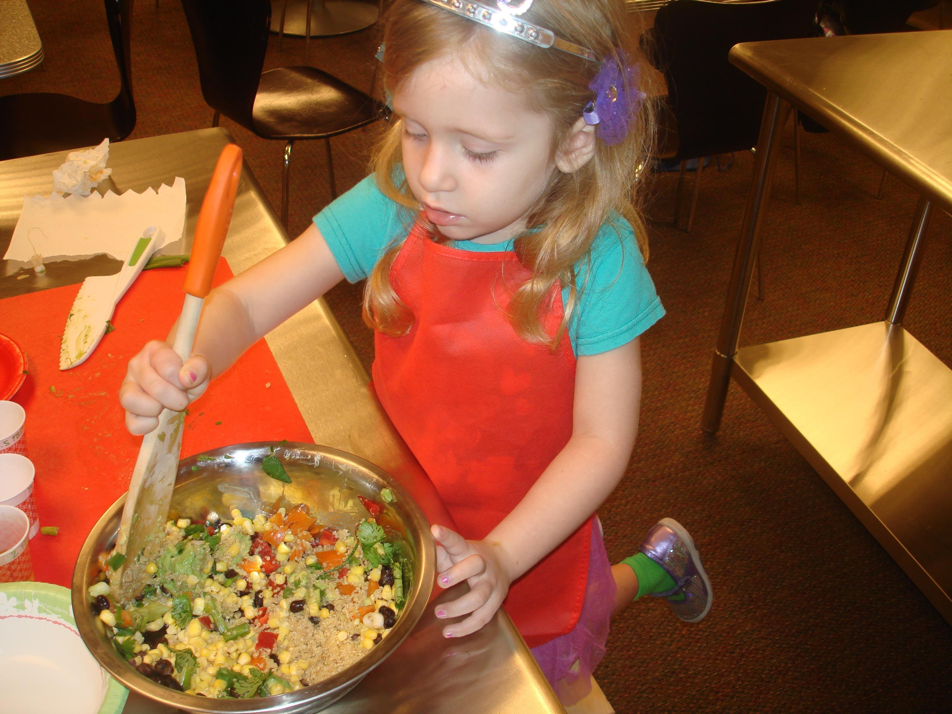 Toddler Test Kitchen