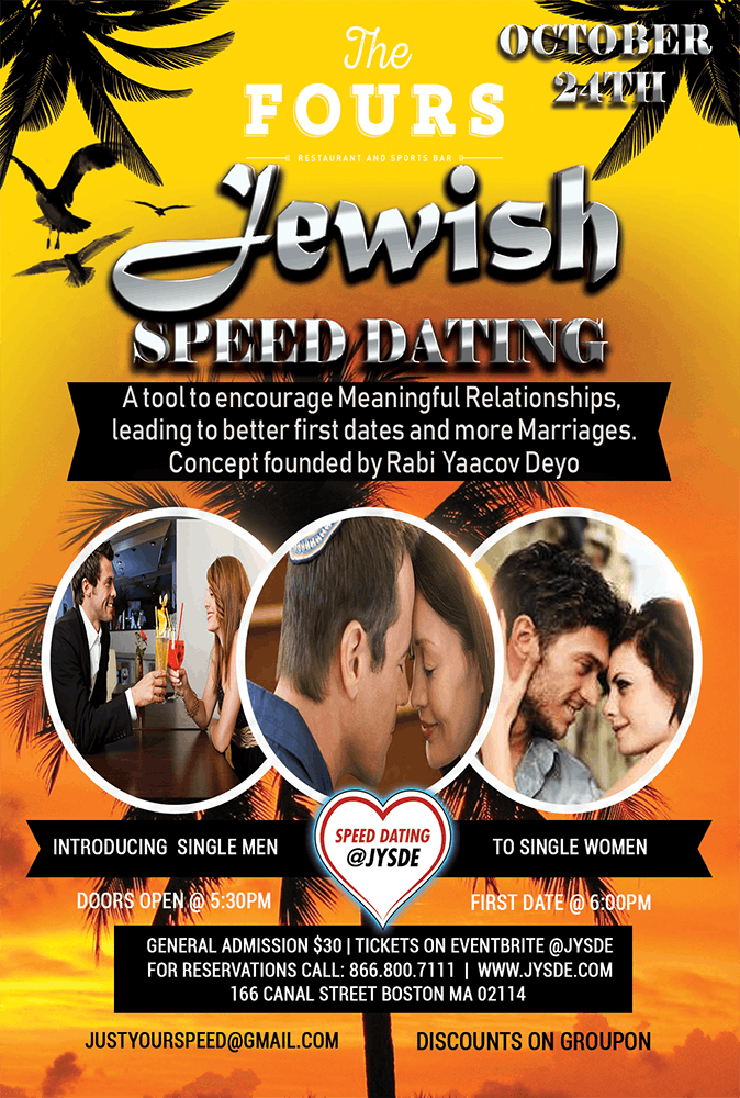 11/15 Jewish Speed Date | #jewish #single #speeddate @FiRE+iCE @jysde
