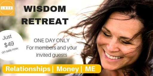 """Life Beyond 30 Wisdom Day Retreat """"It's all about me!"""""""