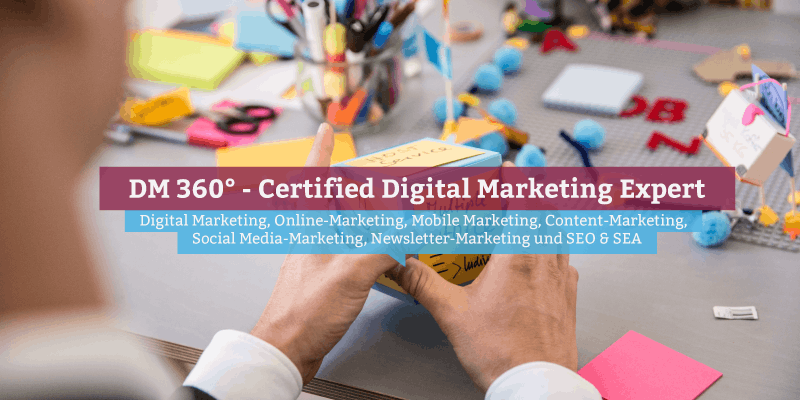 DM360 - Certified Digital Marketing Expert Hamburg