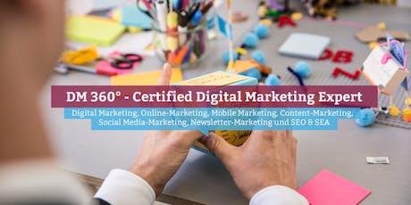DM360° - Certified Digital Marketing Expert, Hamburg Tickets
