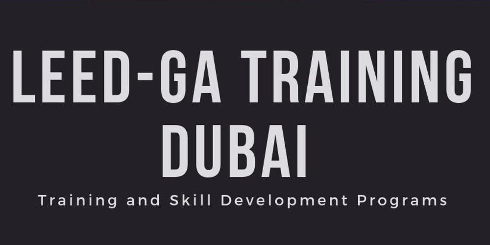 Leed Ga Training Course Dubai Tickets Fri Nov 16 2018 At 900 Am