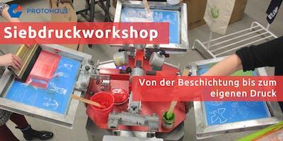 Siebdruckworkshop: Von der Beschichtung bis zum eigenen Druck
