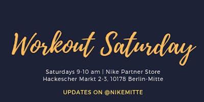 Workout Saturday - Werde Teil der FitFam!