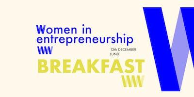 Women in Entrepreneurship Breakfast Lund -  12th of December @Barista