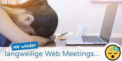 Sieben erstaunlich wirksame Tricks für bessere Web Meetings und Videokonferenzen