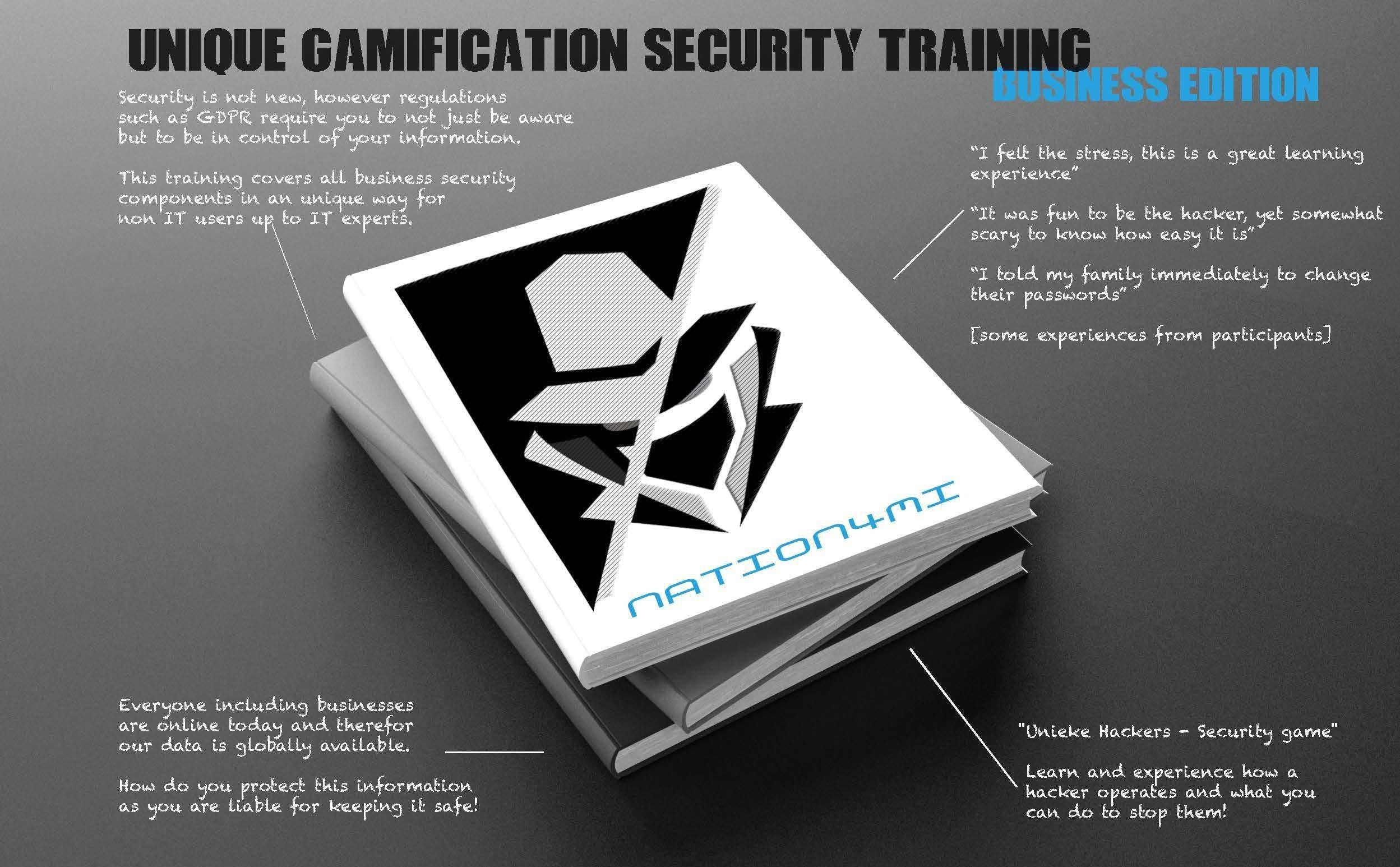 NATION4MI - security gamification training fo