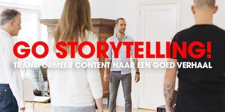 Workshop Go Storytelling tickets