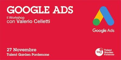 Google ADS il workshop con Valerio Celletti