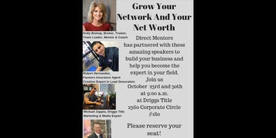 Grow Your Network & Your Net Worth