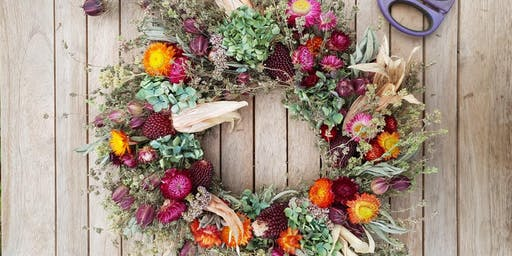 Dried Flower Wreath Making Workshop