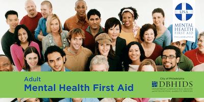 Adult Mental Health First Aid @ Merakey (July 10th & 11th)