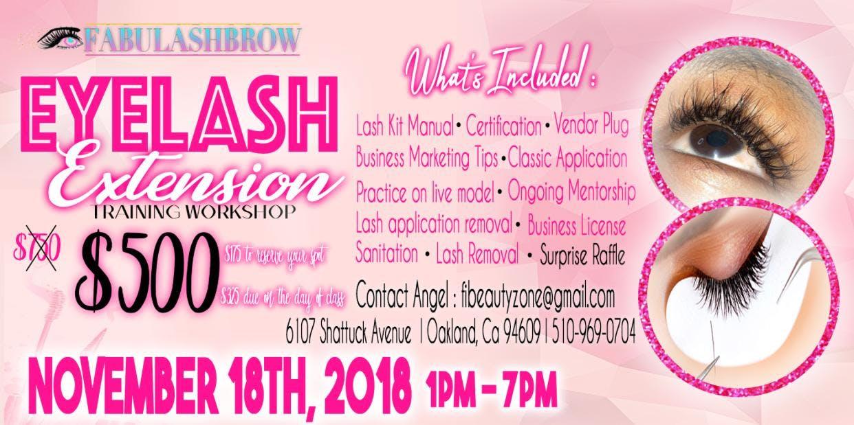 Fabulashbrow Eyelash Extension Training Business Branding