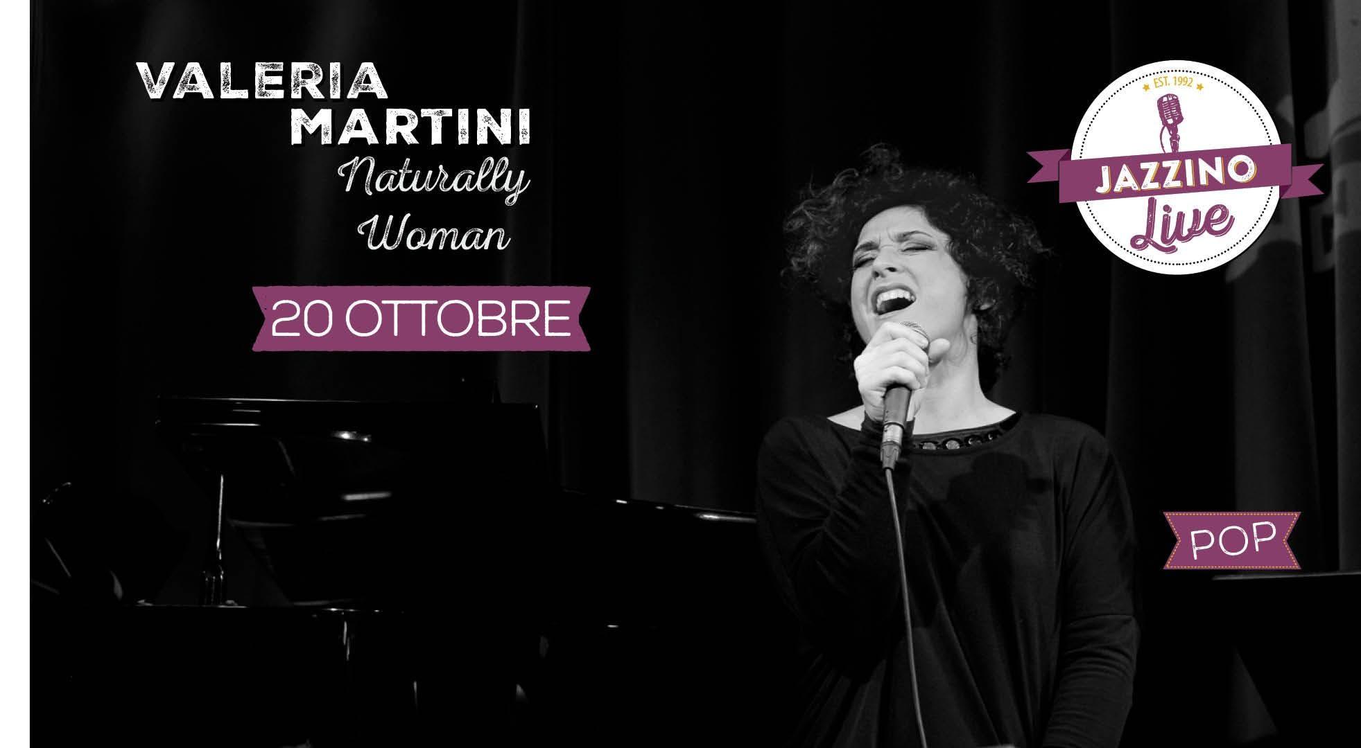 Valera Martini - Naturally Woman live at Jazz
