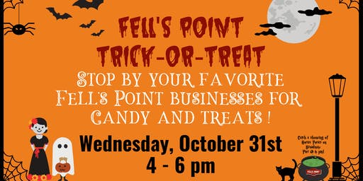 Fells Point Business Trick-or-Treating!