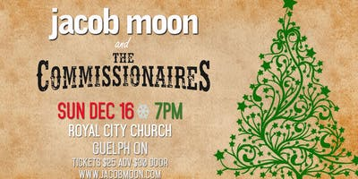 Welcome Christmas with Jacob Moon and The Commissionaires