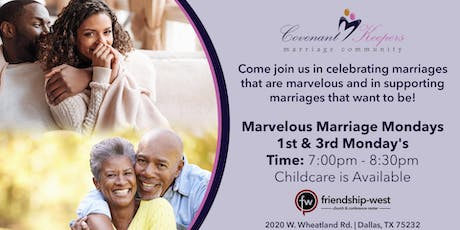 Marvelous Marriage Mondays tickets