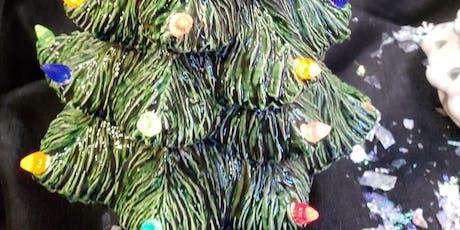 45 - Large Ceramic Christmas Tree