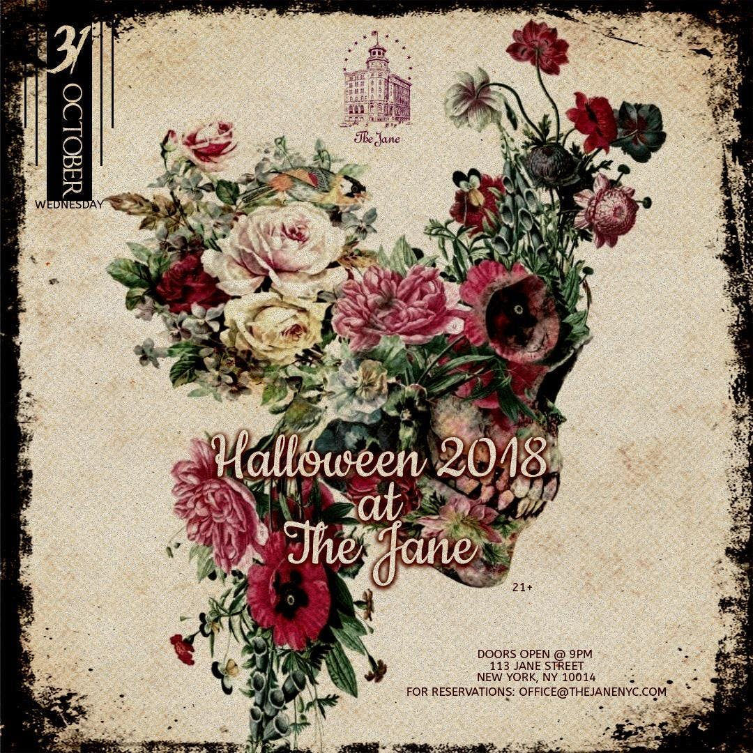 Halloween 2018 at The Jane Ballroom