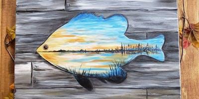 Fish Sunset-Paint Night