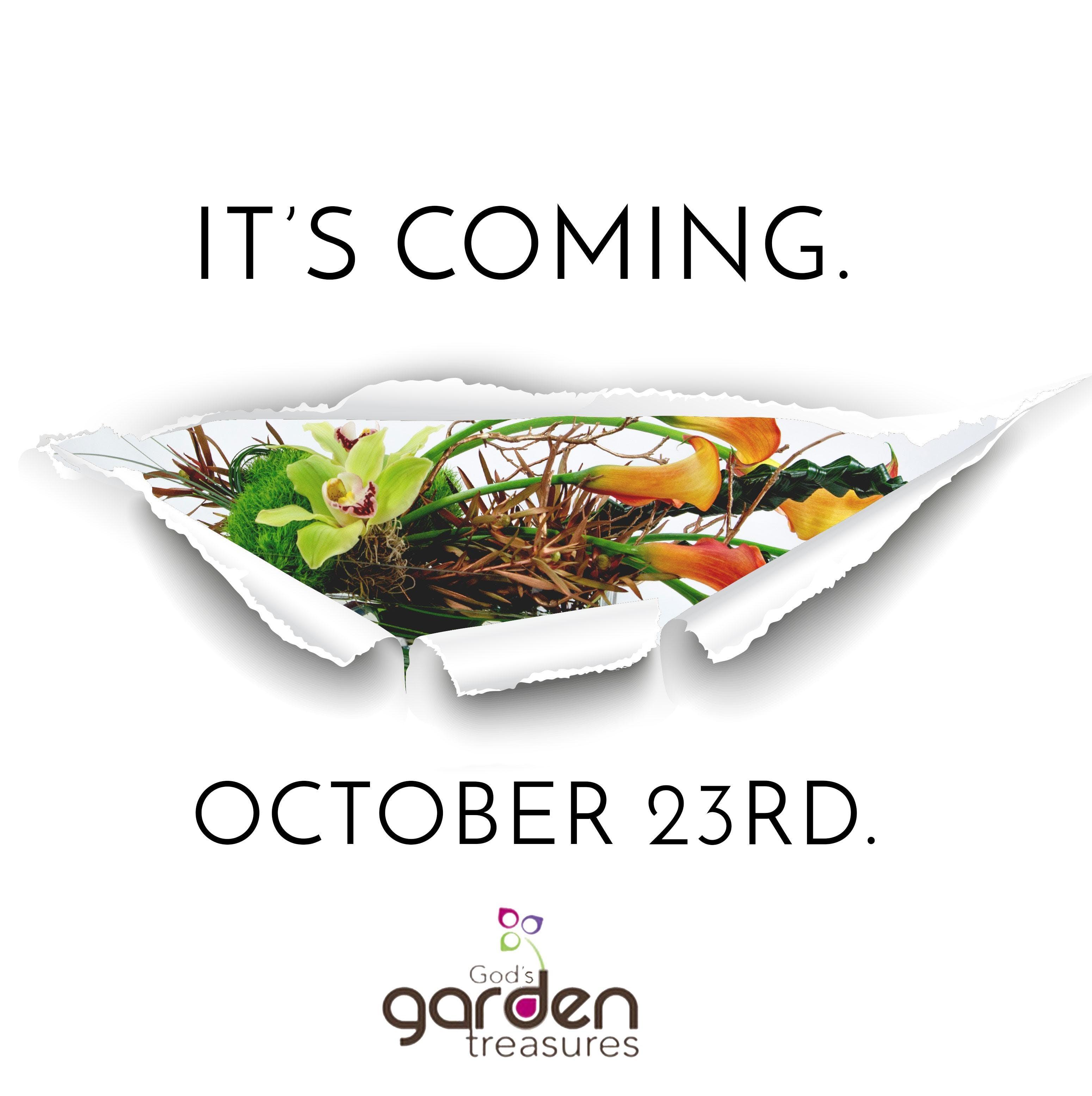 God's Garden Treasures VIP Event