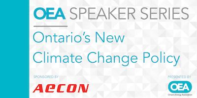 OEA SPEAKER SERIES: Ontario\