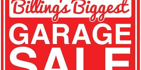 Billings Biggest Garage Sale 6/22/19 tickets