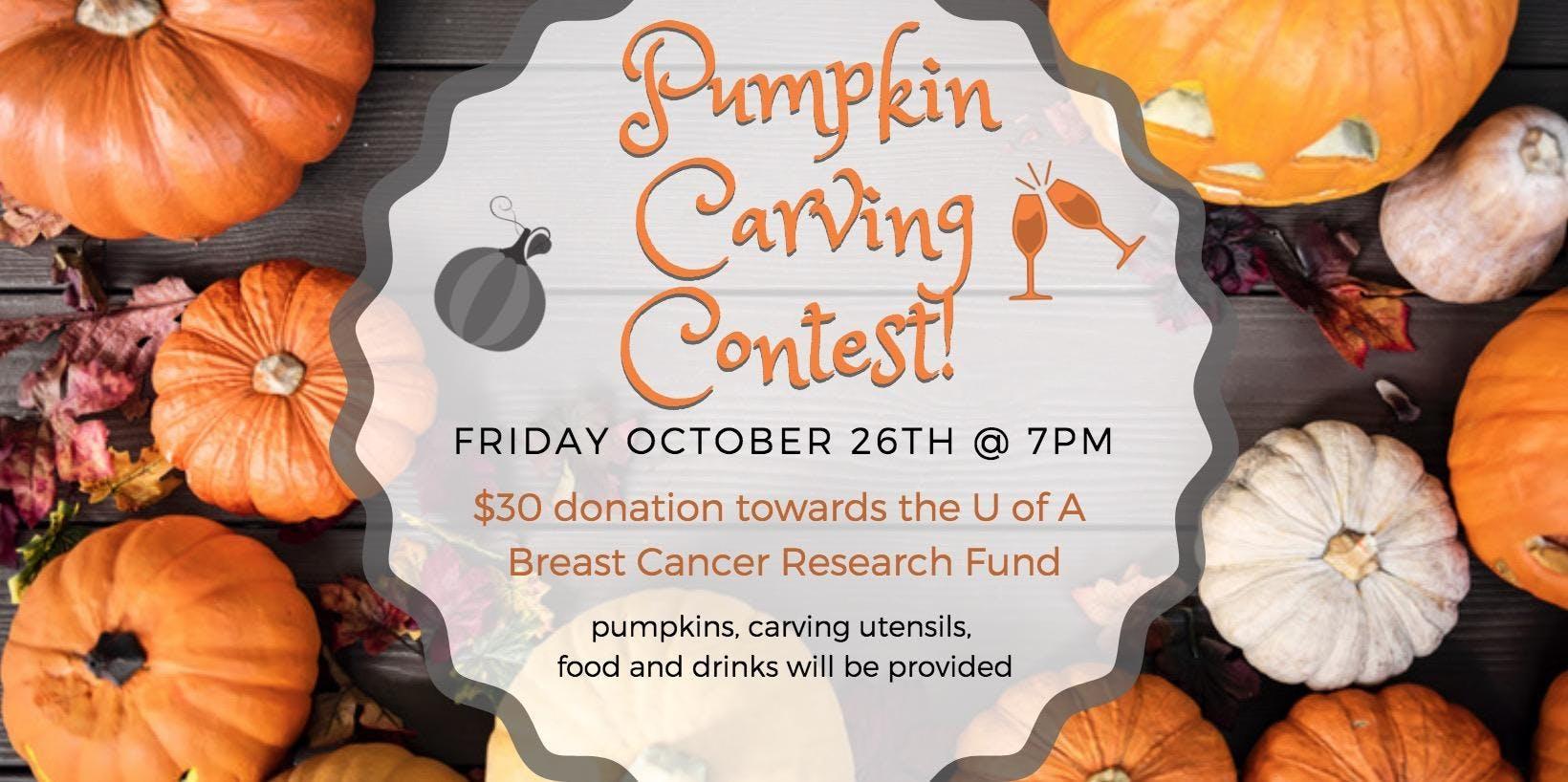 Arcadia Jabz Pumpkin Carving Contest!