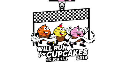 Will Run For Cupcakes 5K, 10K, 13.1  -Honolulu