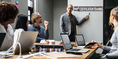 4 Day PMP Certification Training Course in San Carlos, CA