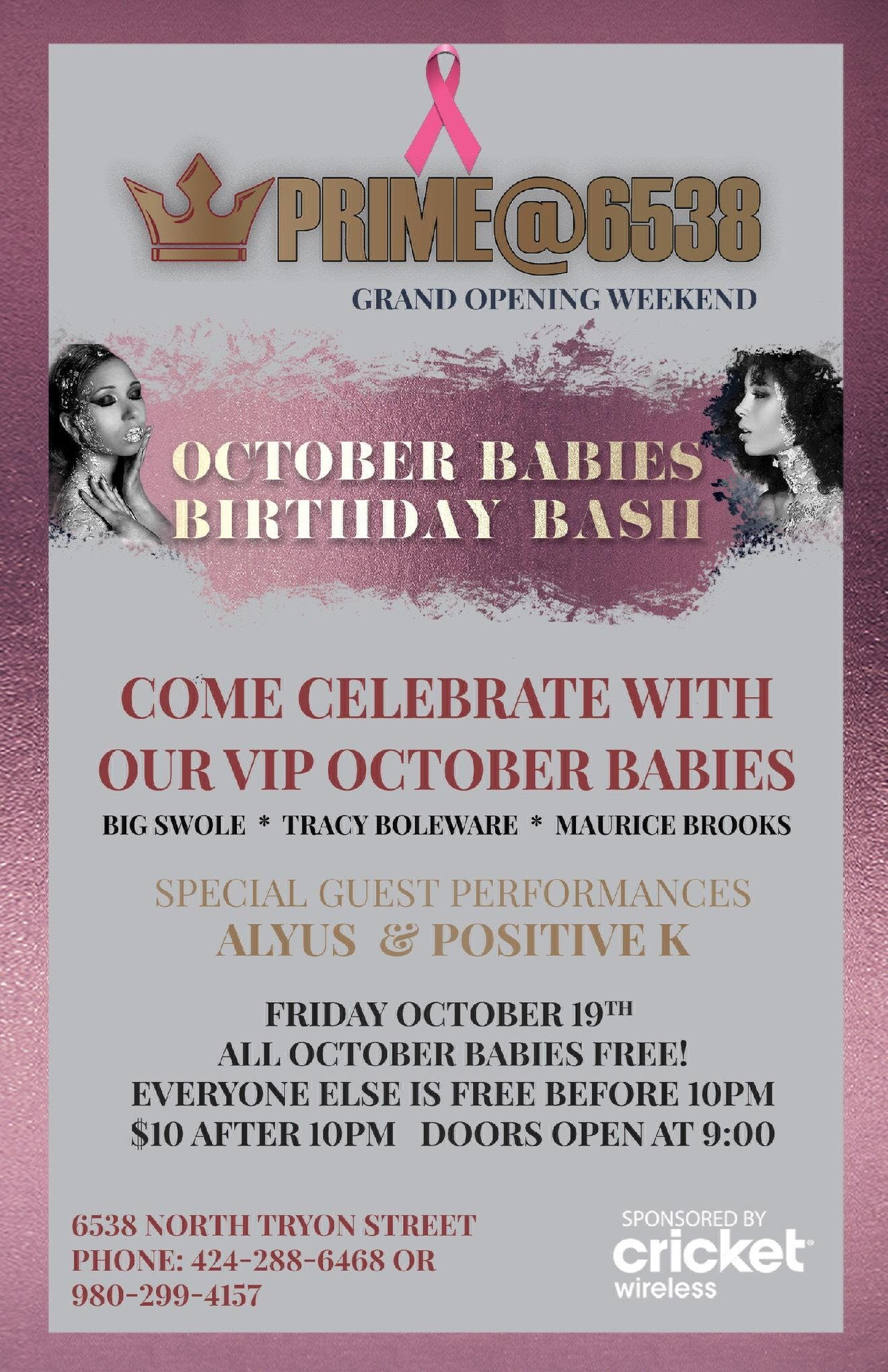 October Babaies Birthday Bash