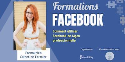 Formations FACEBOOK - Comment utiliser Facebook de façon professionnelle