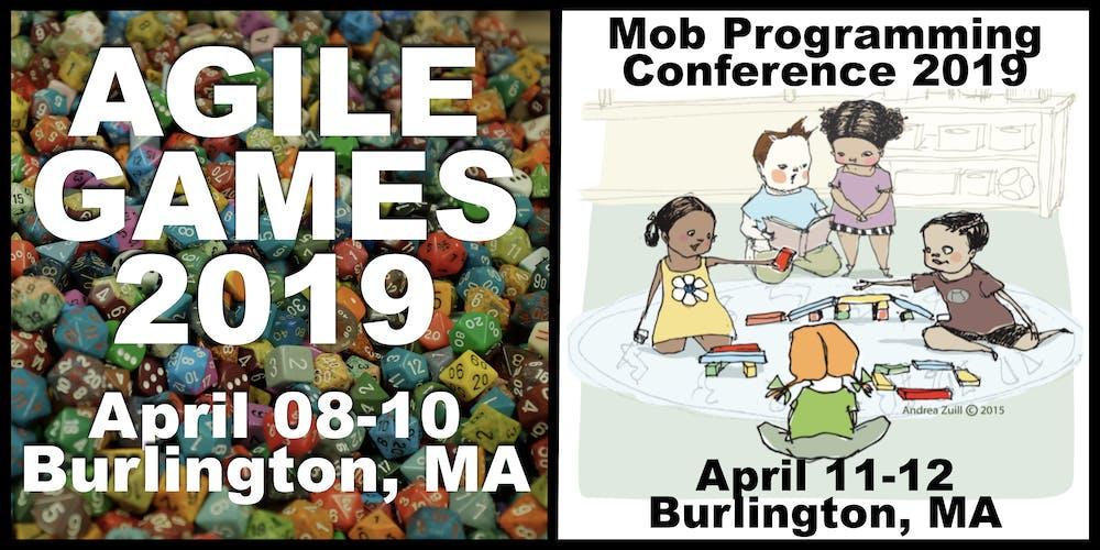 Agile Games and Mob Programming 2019 Conferences Registration, Mon, Apr 8,  2019 at 8:30 AM | Eventbrite