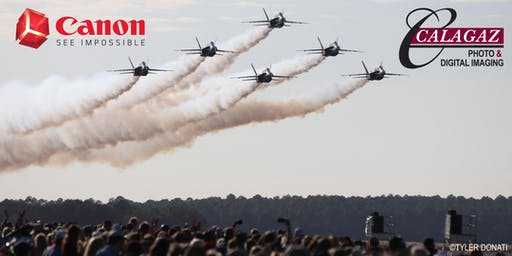 *SOLD OUT* Blue Angels Homecoming Photo Event 2019 sponsored by Canon USA