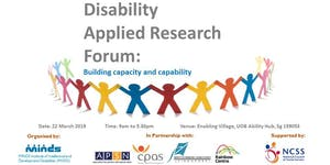 Disability Applied Research Forum