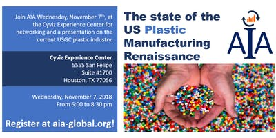 The state of the US Plastic Manufacturing Renaissance