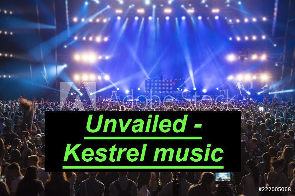 Meet our official brand - Kestrel music