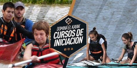 Curso de kayak entradas