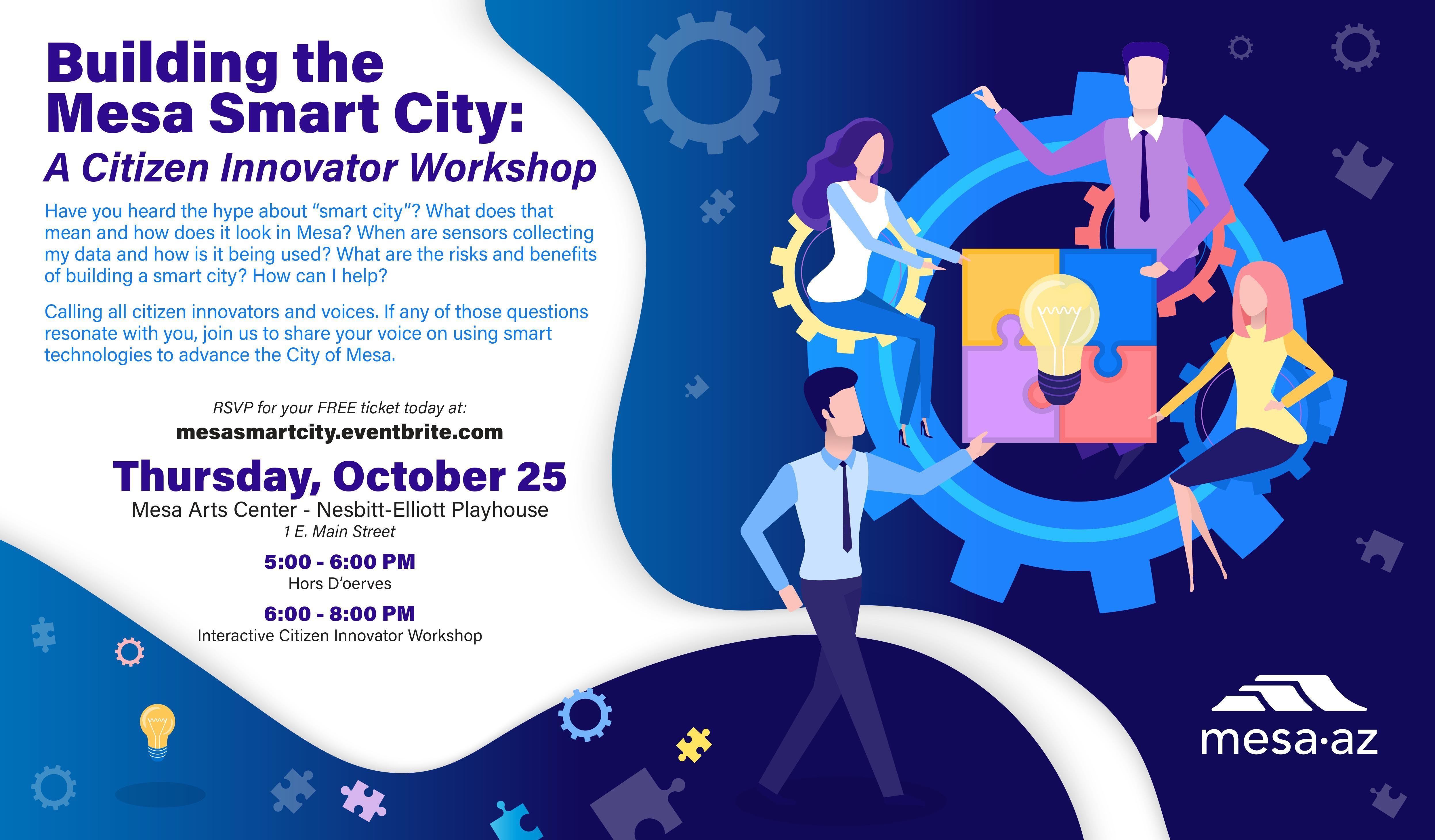 Building a Smart City in Mesa: A Citizen Innovator Workshop