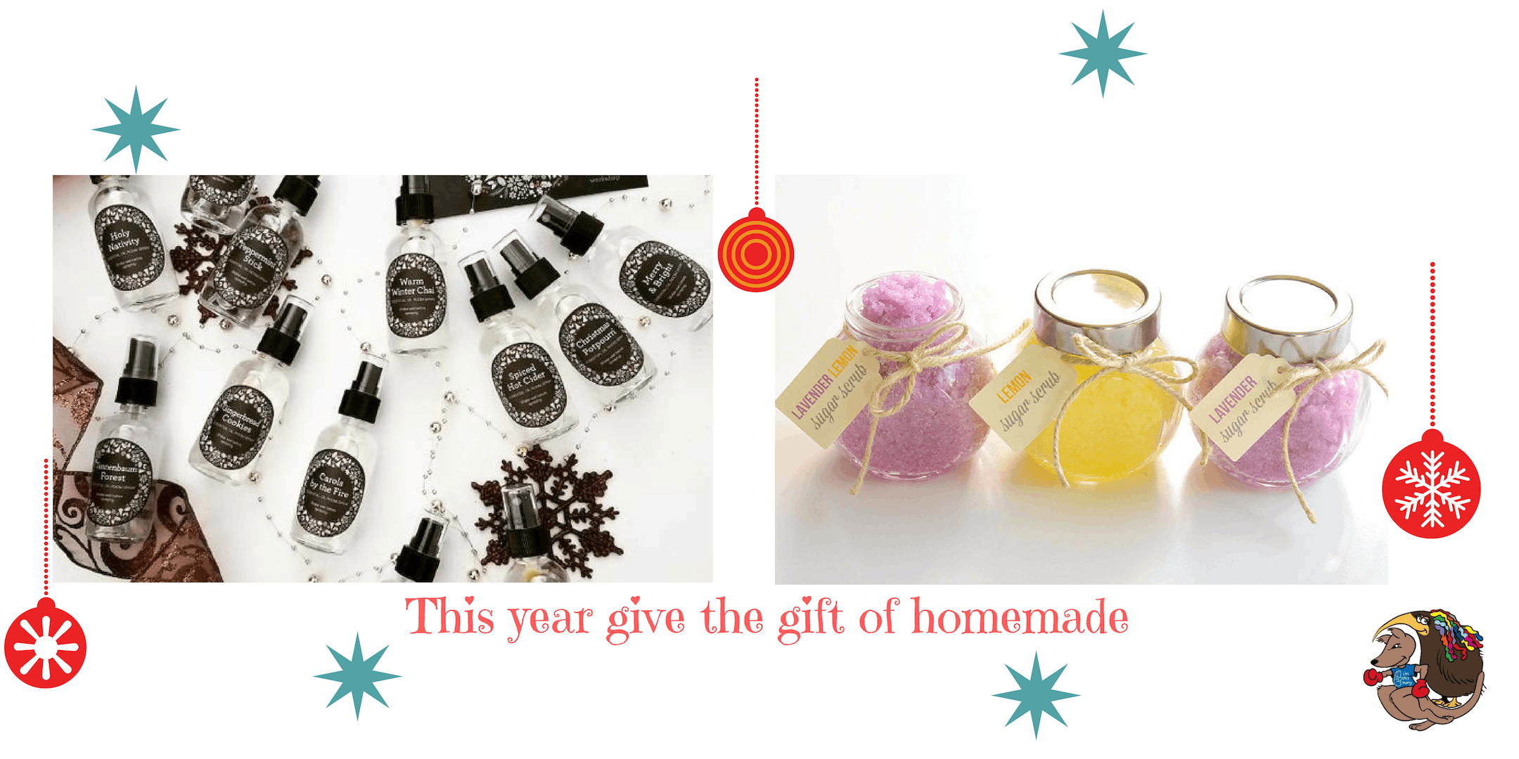 Christmas Gifts and Crafts- Room sprays and sugar scrubs at Trott ...