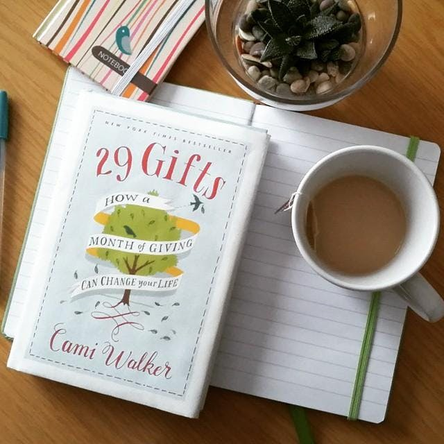 29 gifts how a month of giving can change your life