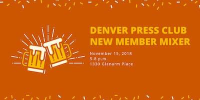 Denver Press Club New Member Mixer/Guest Bartender