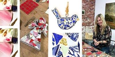 Mosaic Workshop with Kirsten Asche